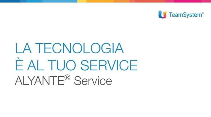 ALYANTE Service TeamSystem
