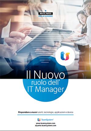 White paper - Il nuovo ruolo dell'IT manager