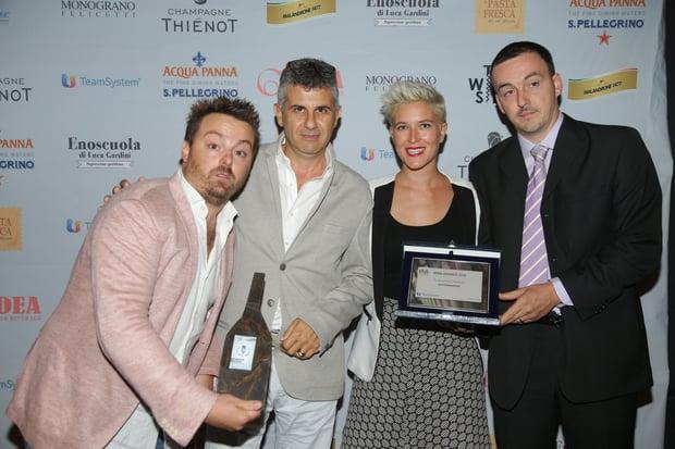 Consegna premi TeamSystem a TWS_BIWA 2016