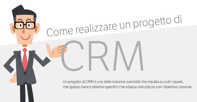 Un progetto di CRM in 10 mosse